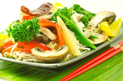 Colorful stir fry Royalty Free Stock Image
