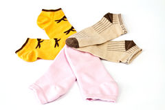 Colorful stockings Royalty Free Stock Photo