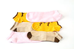 Colorful stockings Royalty Free Stock Photography
