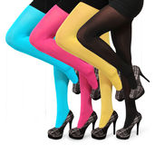 Colorful stockings Stock Images