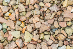 Colorful stone for background Stock Images