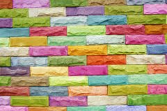 Free Colorful Stone Block Wall Stock Photos - 34719303