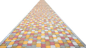 Colorful stone path Royalty Free Stock Photo