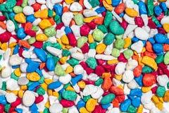 Colorful stone pattern background Stock Photo