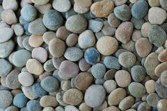 Colorful stone texture Stock Photography