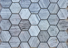 Colorful stone tiles pattern Stock Image