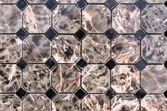 Colorful stone tiles pattern Royalty Free Stock Photography