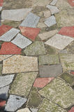 Colorful stone walkway Stock Photos