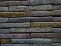 Colorful Stone Wall Royalty Free Stock Photos