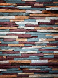 Colorful stone wall texture Royalty Free Stock Photo