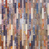 Colorful stone wall tiles Royalty Free Stock Image