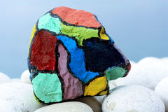 Colorful stone Royalty Free Stock Image