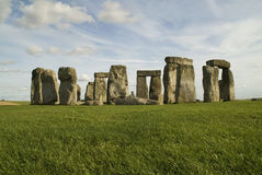 Colorful Stonehenge Stock Image