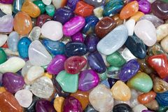 Colorful stones Royalty Free Stock Image