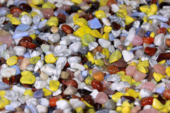 Colorful stones background Royalty Free Stock Photos