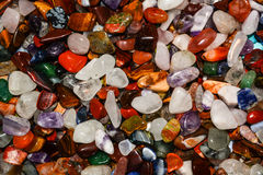 Colorful stones background Royalty Free Stock Images
