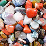 Colorful stones background Stock Photography