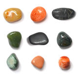 Colorful stones collection Stock Photo