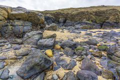 Colorful stones at higer bal cove Stock Image