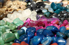 Colorful stones Stock Images