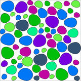 Colorful stones pattern Royalty Free Stock Images