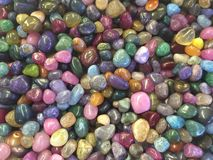 Colorful Stones Stock Image