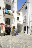 Colorful store in Cadaques Stock Photo