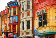 Colorful Storefronts, Royalty Free Stock Photo