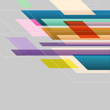 Colorful straight lines abstract background. Stock vector Stock Illustration
