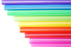 Colorful of straw Stock Photo