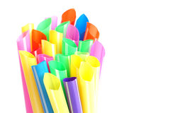 Colorful of straw Royalty Free Stock Photos