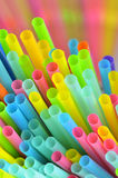 Colorful of straw Royalty Free Stock Photography