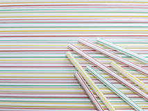 Colorful straw background Stock Photos