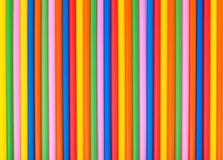 Colorful straw Royalty Free Stock Photo