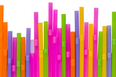 Colorful straw Stock Photos