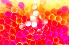 Free Colorful Straws Royalty Free Stock Image - 19100646