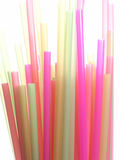 Colorful straws. Straws Royalty Free Stock Image