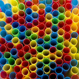 Colorful straws. Colorful background from arranged straws Royalty Free Stock Photos