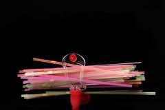 Colorful straws Stock Image