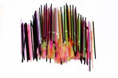 Colorful straws Royalty Free Stock Photos