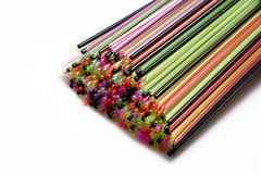 Colorful straws Royalty Free Stock Image