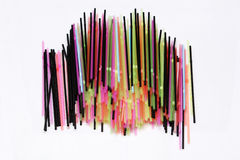 Colorful straws Royalty Free Stock Photography