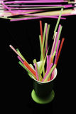 Colorful straws Royalty Free Stock Photos
