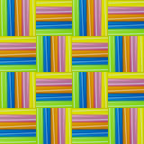 Colorful straws pattern Stock Image