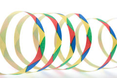 Colorful streamers Stock Photo