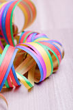 Colorful streamers Royalty Free Stock Images