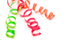 Colorful streamers Royalty Free Stock Image