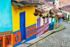 Colorful Street Stock Photos