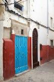 Colorful street fragment. Medina, Tangier Royalty Free Stock Photo