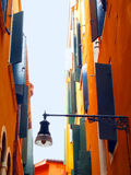 Colorful street in Venice, Italy Stock Photos